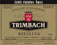 2010 Trimbach Riesling Cuvee Frederic Emile