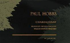 2007 Paul Hobbs Winery Chardonnay Walker Station Vineyard Russian River Valley