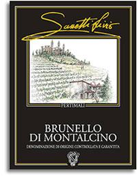 2001 Pertimali (Livio Sassetti) Brunello di Montalcino