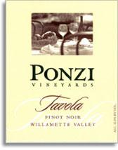 2010 Ponzi Vineyards Pinot Noir Tavola Willamette Valley