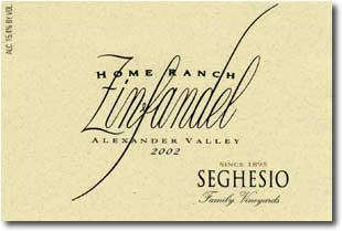 2006 Seghesio Family Vineyards Zinfandel Home Ranch Alexander Valley