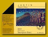 2011 Justin Vineyards Sauvignon Blanc Edna Valley