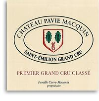 2000 Chateau Pavie Macquin Saint-Emilion