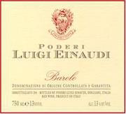 2003 Luigi Einaudi Barolo
