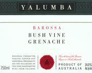 2011 Yalumba Grenache Bush Vine Barossa