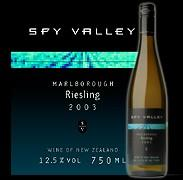 2012 Spy Valley Wines Riesling Marlborough