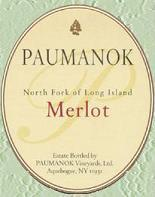 2012 Paumanok Merlot Long Island