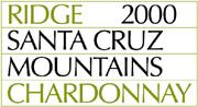 2011 Ridge Vineyards Chardonnay Santa Cruz Mountains