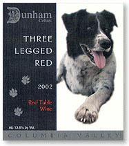 2011 Dunham Cellars Three Legged Red Columbia Valley