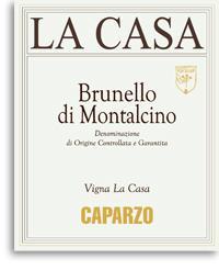 2010 Caparzo Brunello di Montalcino La Casa