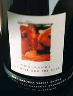 2012 Two Hands Wines Shirazcabernet Sauvignon The Bull And Bear Barossa Valley