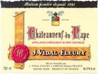 1999 J. Vidal Fleury Chateauneuf-du-Pape