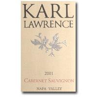 1996 Karl Lawrence Cabernet Sauvignon Napa Valley