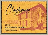 2010 Clayhouse Sauvignon Blanc Paso Robles