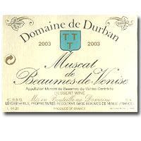 2010 Domaine De Durban Muscat De Beaumes De Venise