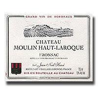 2013 Chateau Moulin Haut Laroque Fronsac