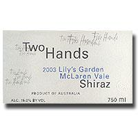 2004 Two Hands Wines Shiraz Lily's Garden McLaren Vale