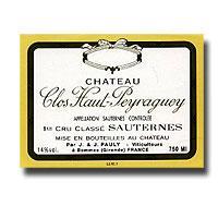 2001 Clos Haut Peyraguey Sauternes