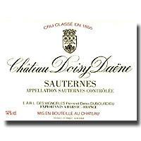2008 Chateau Doisy Daene Sauternes Barsac