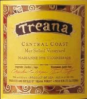 2011 Treana Winery White Wine Central Coast
