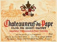 2001 Clos du Mont Olivet Chateauneuf-du-Pape
