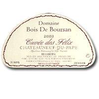 2001 Domaine Bois de Boursan Chateauneuf-du-Pape Cuvee des Felix
