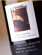 2010 Two Hands Wines Cane Cut Semillon For Love Or Money Barossa Valley