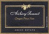2011 Archery Summit Winery Pinot Noir Arcus Estate Dundee Hills