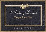 2014 Archery Summit Winery Pinot Noir Arcus Estate Dundee Hills