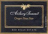 2011 Archery Summit Winery Pinot Noir Red Hills Estate Dundee Hills