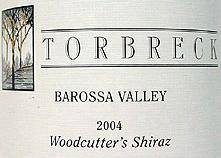 2012 Torbreck Vintners Shiraz Woodcutter's Barossa Valley