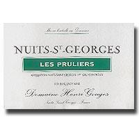 2002 Domaine Henri Gouges Nuits-Saint-Georges Les Pruliers