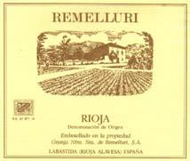 2004 Granja Nuestra Senora De Remelluri Rioja