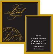 2007 Leal Vineyards Cabernet Sauvignon San Benito
