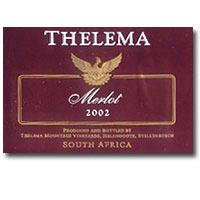 2009 Thelema Mountain Vineyards Merlot Stellenbosch