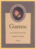 Vv Guenoc Chardonnay Guenoc Valley