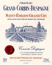 2010 Chateau Grand Corbin Despagne Saint Emilion Grand Cru