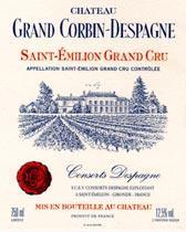 2009 Chateau Grand Corbin Despagne Saint Emilion Grand Cru