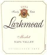 Vv Larkmead Merlot Napa Valley