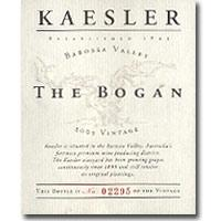 2012 Kaesler Wines Shiraz The Bogan Barossa Valley