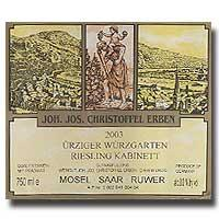 2002 Joh. Jos. Christoffel Erben Urziger Wurzgarten Riesling Kabinett