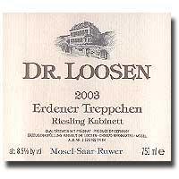 2012 Dr. Loosen Erdener Treppchen Riesling Kabinett