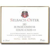2005 Selbach Oster Zeltinger Sonnenuhr Riesling Auslese