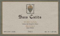 2007 Fattoria Paradiso Saxa Calida