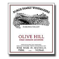 2004 Burge Family Winemakers Grenache Syrah Mourvedre Olive Hill Barossa Valley