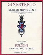 2006 Fuligni Rosso Di Montalcino Ginestreto