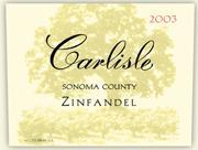 2011 Carlisle Winery Zinfandel Sonoma County