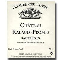 2009 Chateau Rabaud Promis Sauternes