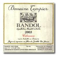 2012 Domaine Tempier Bandol Cabassaou
