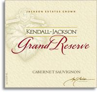 2008 Kendall-Jackson Cabernet Sauvignon Grand Reserve California